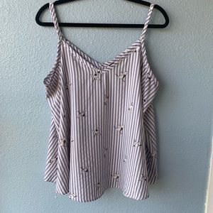 ✨TORRID PLUS SIZE STRIPED SUMMER TANK TOP SZ 1✨
